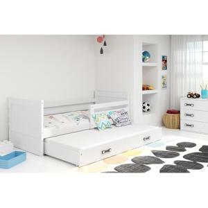 Detská posteľ s výsuvnou posteľou RICO 190x80 cm