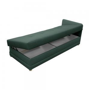 TEMPO KONDELA Riky jednolôžková posteľ (váľanda) s úložným priestorom svetlosivá #1 small