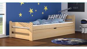 Detská posteľ Ourbaby David prírodná 200x90 cm
