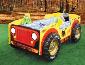 Artplast Detská posteľ Monster Truck