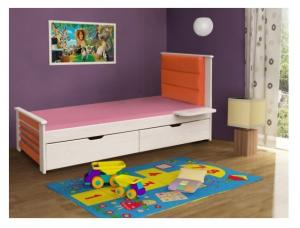 ArtBed Detská posteľ Matylda / 190x87x80 Prevedenie: Borovica prírodná