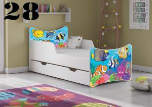 Detská posteľ SMB Pes a mačka 16 Prevedenie: Obrázok č.28