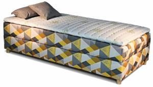 New design Čalúnená posteľ NOVO Rozmer.: 80 x 200 cm